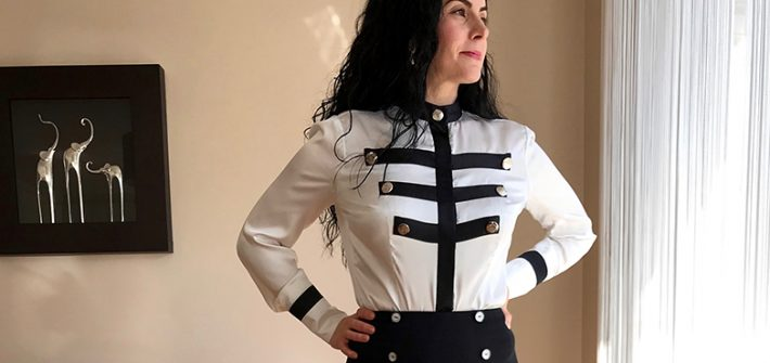 Military blouse