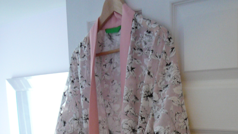 Pink Dressing Gown for Christine